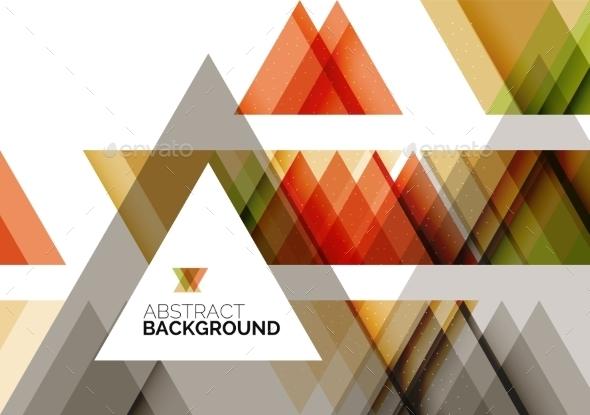 Geometric Background - Technology Conceptual