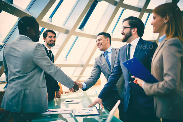 Business alliance - Stock Photo - Images