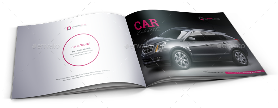 automotive car brochure catalog indesign template by janysultana graphicriver. Black Bedroom Furniture Sets. Home Design Ideas