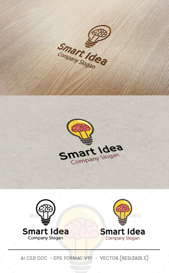 Smart Idea Logo - Symbols Logo Templates