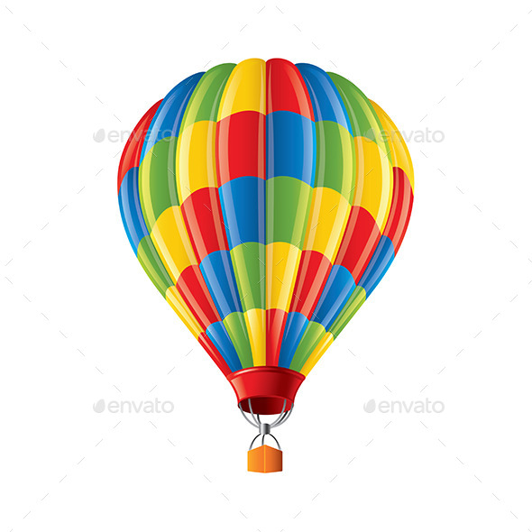 Colored Balloon - Travel Conceptual