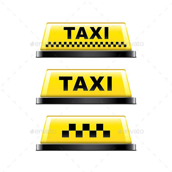 Taxi Sign - Miscellaneous Vectors