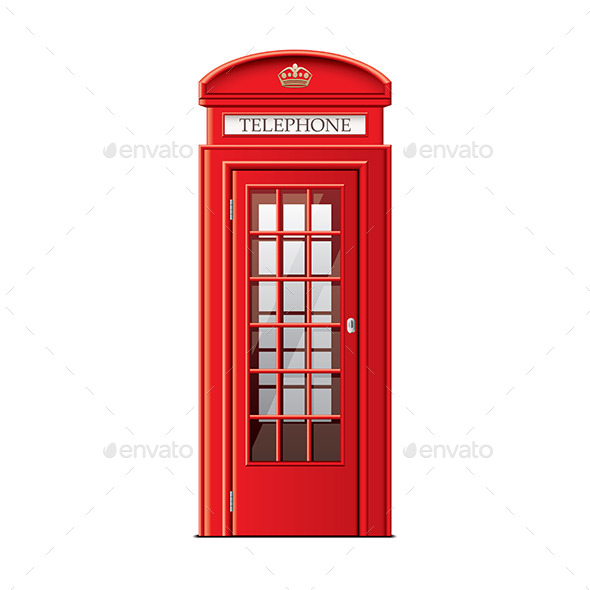 London Phone Booth - Communications Technology