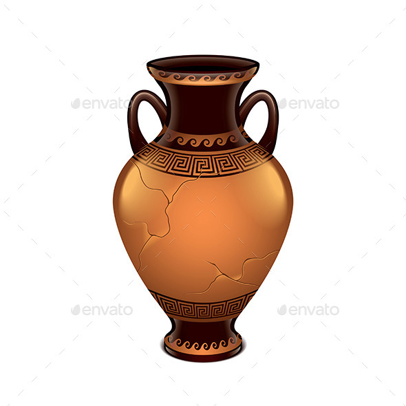 Ancient Vase - Man-made Objects Objects