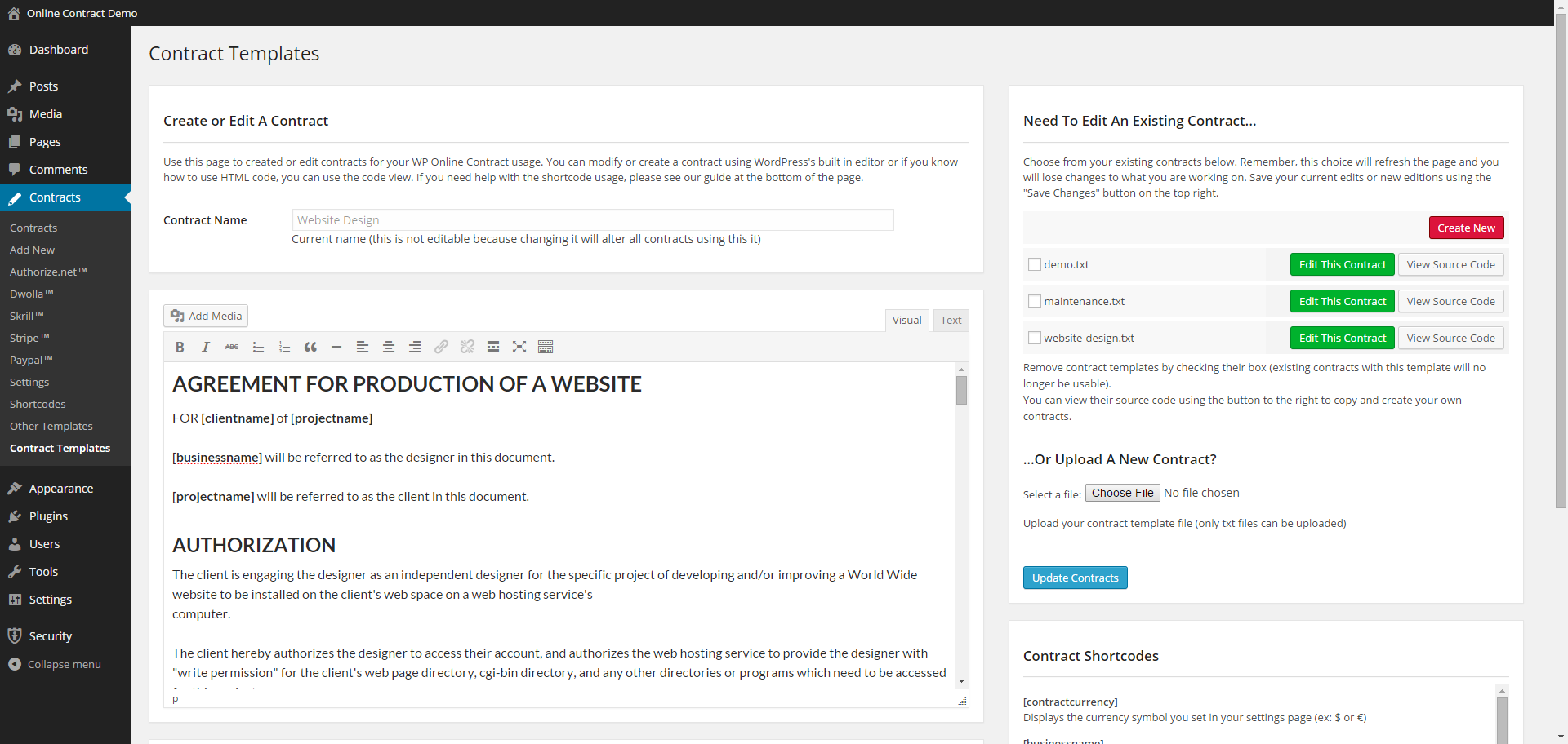 Free Online Contracts Templates Fiveoutsiderscom - Free online contract templates