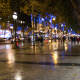 Champs Elysees, People, Night 1 - VideoHive Item for Sale