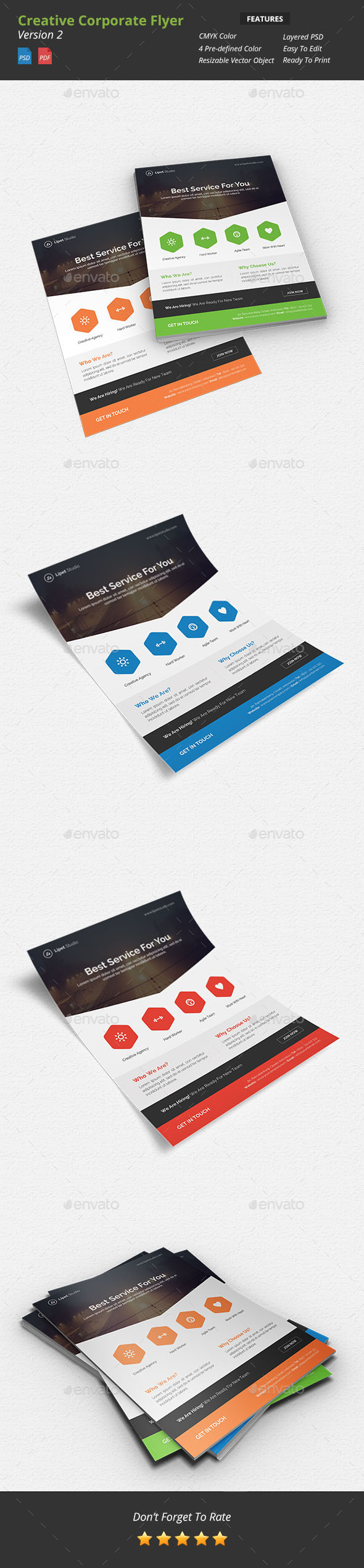 Creative Corporate Flyer v2 - Corporate Flyers