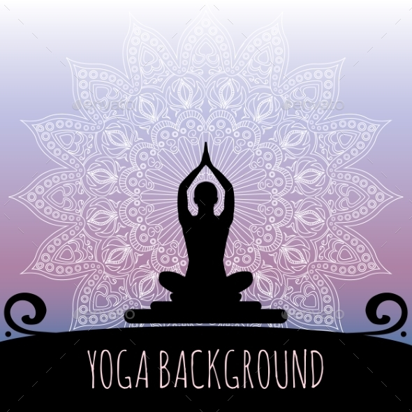 Yoga Background. - Sports/Activity Conceptual