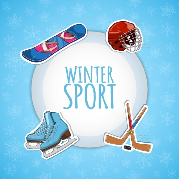 Winter Sports Background. - Sports/Activity Conceptual