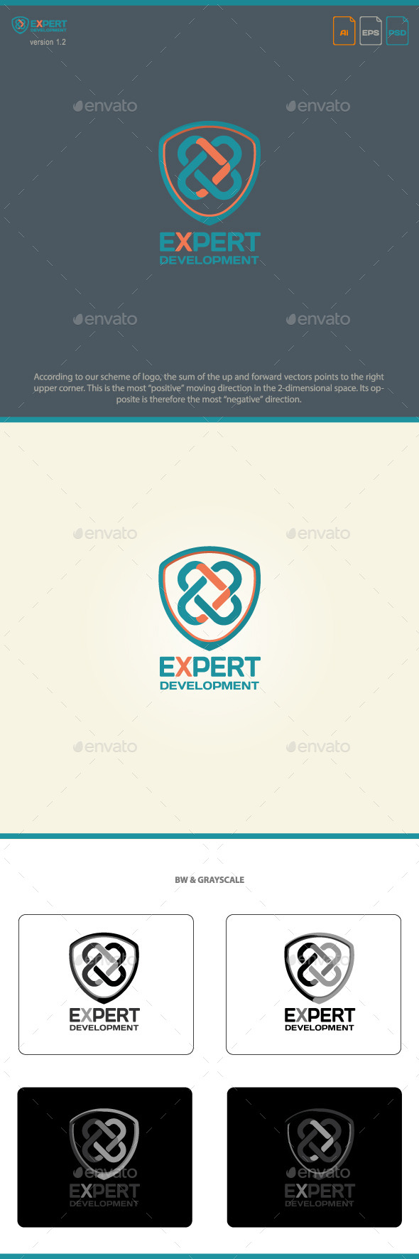 Expert Development - Letters Logo Templates