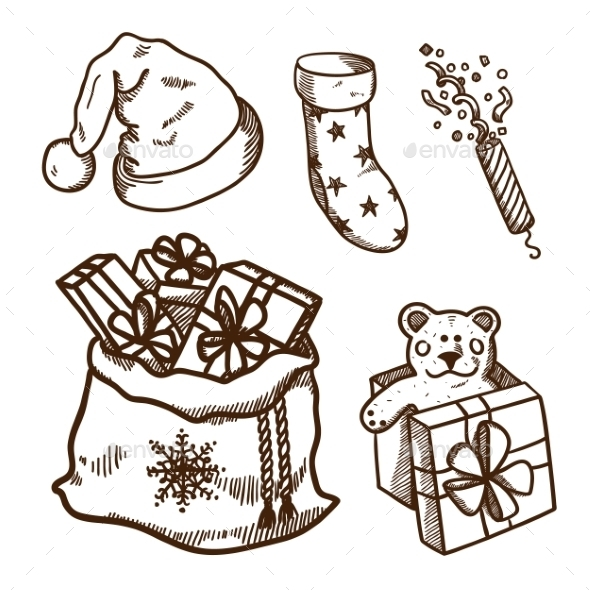 Christmas and New Year Objects  - Christmas Seasons/Holidays