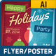Holiday Party Poster - GraphicRiver Item for Sale