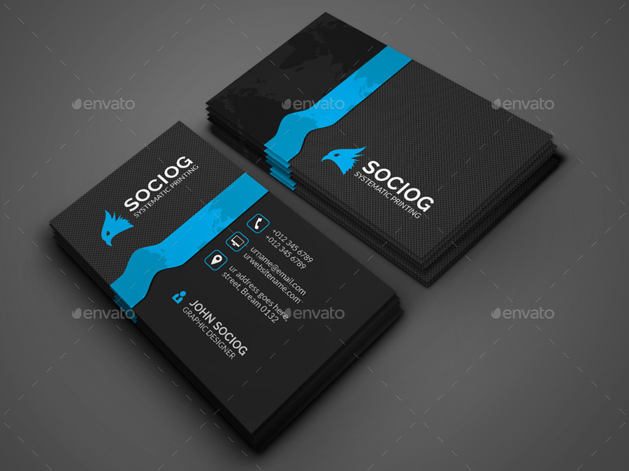 Digital Business Card by axnorpix
