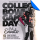 College Bowl Game Day Football Flyer Template