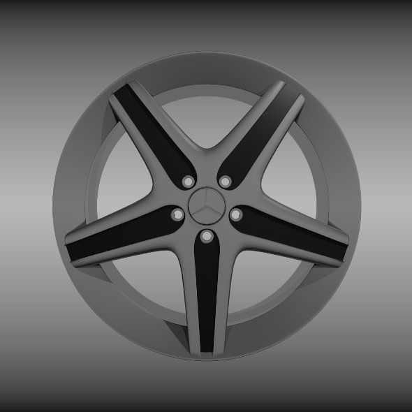 Mercedes rim - 3DOcean Item for Sale