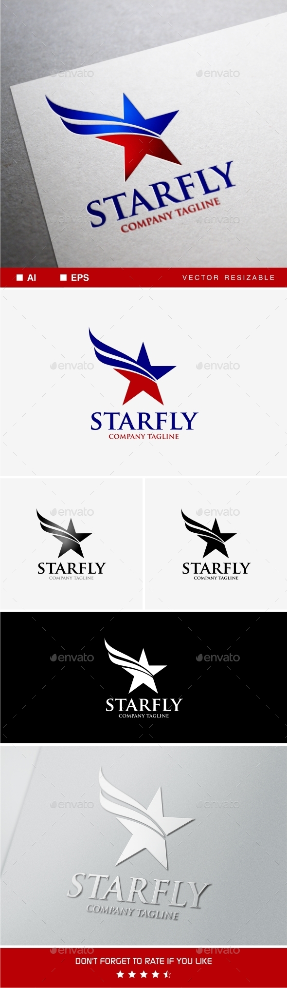 Starfly - Objects Logo Templates