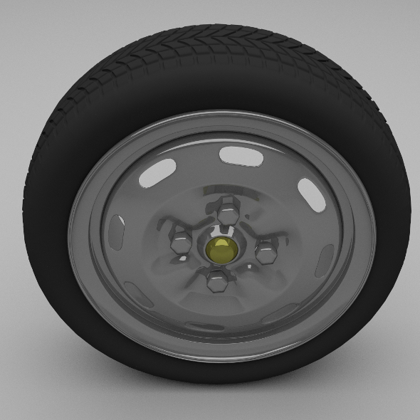 Lada wheel - 3DOcean Item for Sale