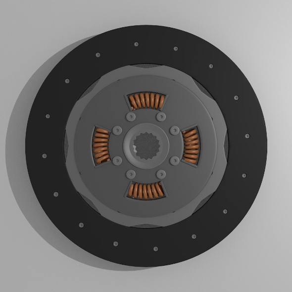 Clutch disk - 3DOcean Item for Sale