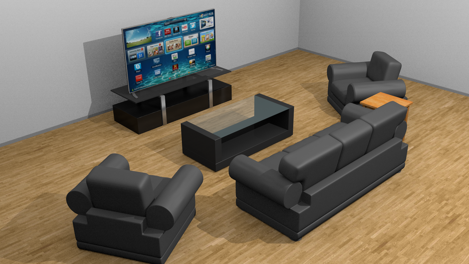 Simple living room set