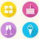 Birthday Icons - Vector - GraphicRiver Item for Sale