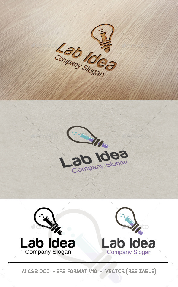 Lab Idea Logo - Objects Logo Templates