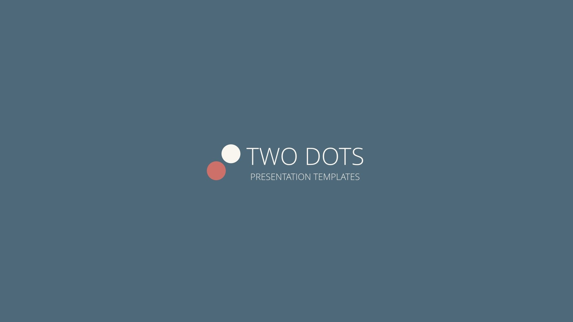 two dots powerpoint presentation templateshexagonpixel, Presentation templates