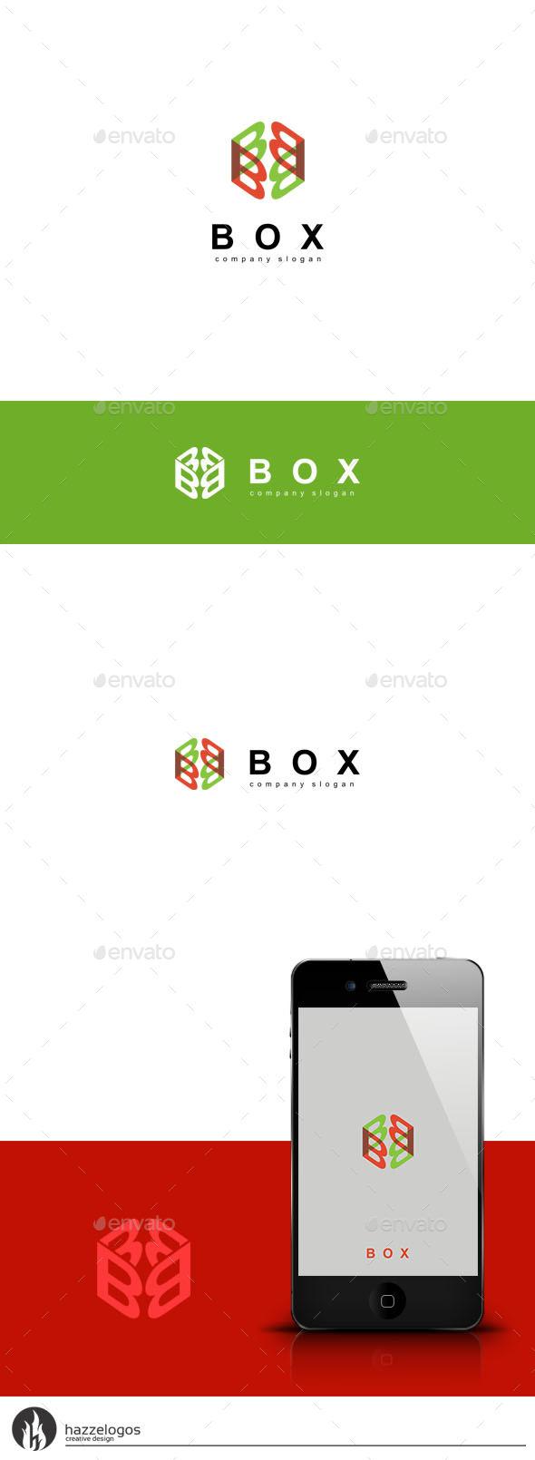 Box - Letter B Logo - Letters Logo Templates