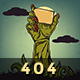 Zombie - Animated 404 Page Nulled