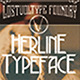 Herline Typeface - GraphicRiver Item for Sale