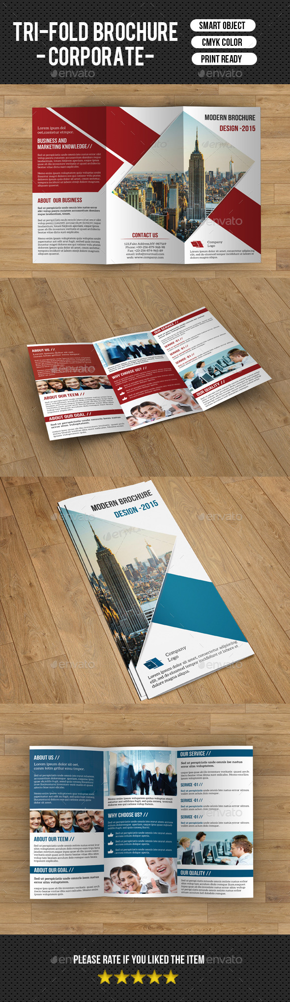 Trifold Business Brochure-V192 - Corporate Brochures