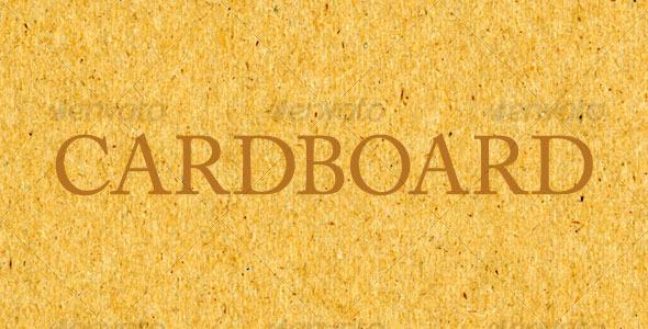 Cardboard - Miscellaneous Textures