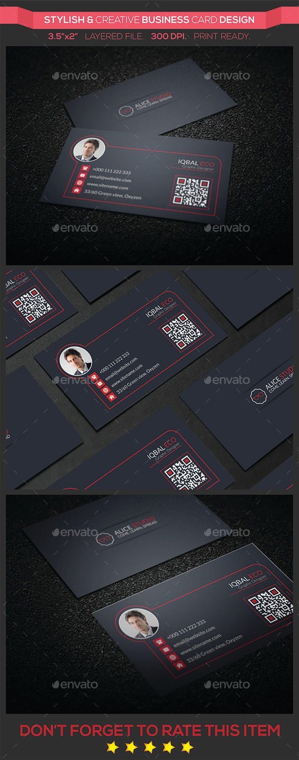 Stylish & Creative Business Card Design - Creative Business Cards