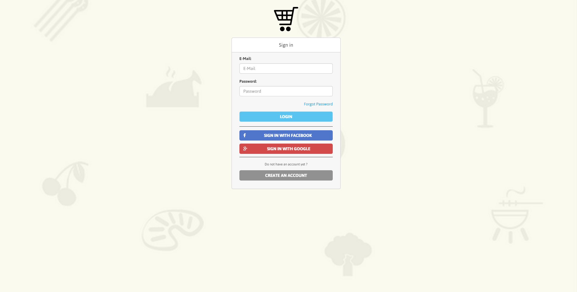 Shoppy - Online shopping list