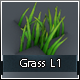 Low Poly Grass L1 - 3DOcean Item for Sale