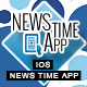 News Time App With CMS & Ads - iOS