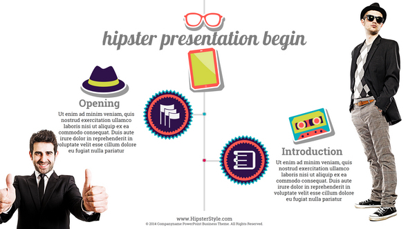 Hipster creative powerpoint presentation template by orapopo hipster creative powerpoint presentation template creative powerpoint templates screenshot previewhipster001g toneelgroepblik Image collections