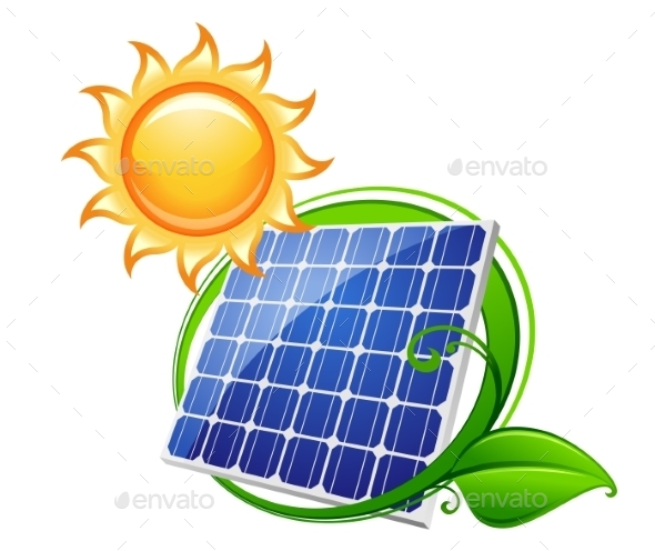 Solar Panel or Battery - Technology Conceptual