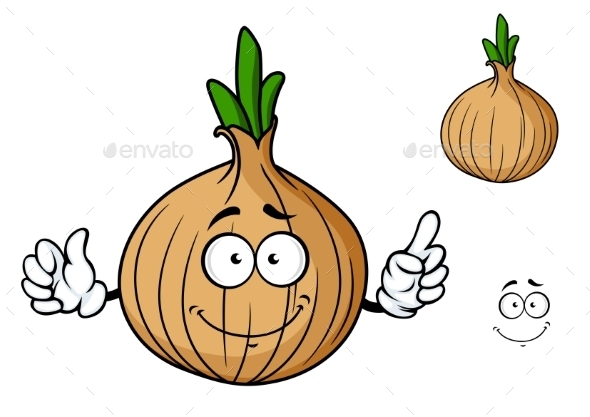 Vegetable Cartoon - Miscellaneous Characters
