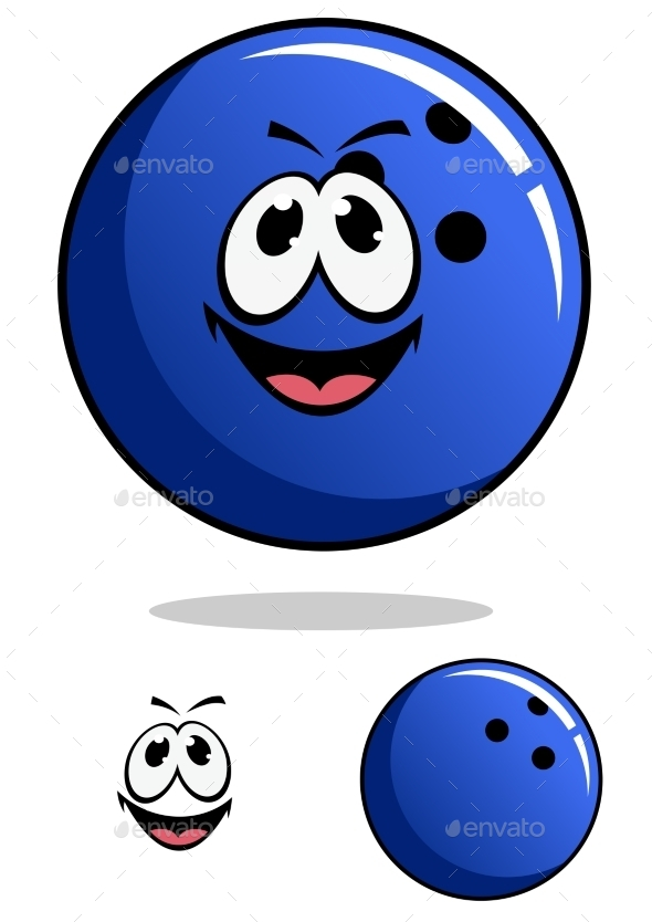Bowling Ball Cartoon - Miscellaneous Characters