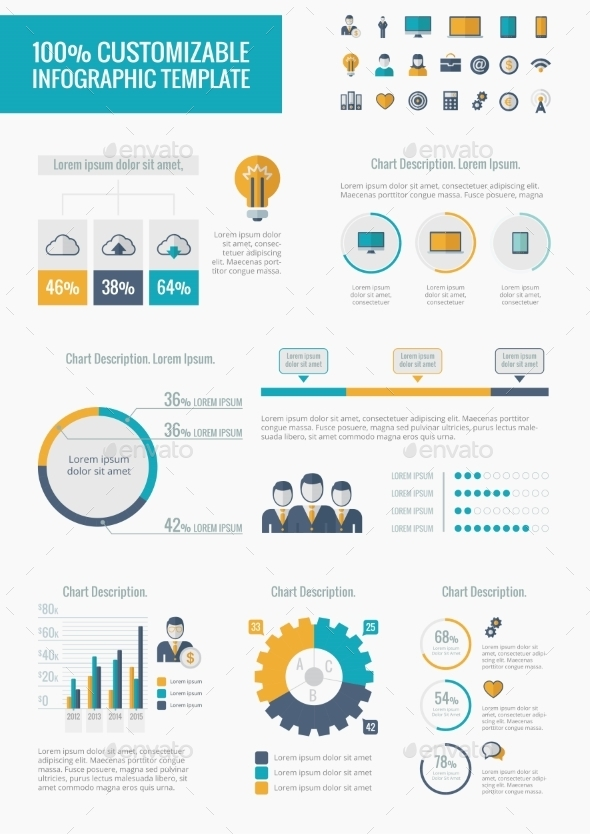 Technology Infographic Elements - Web Technology