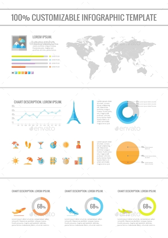 Travel Infographic Elements. - Travel Conceptual