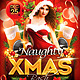 Naughty Xmas Bash Flyer - GraphicRiver Item for Sale