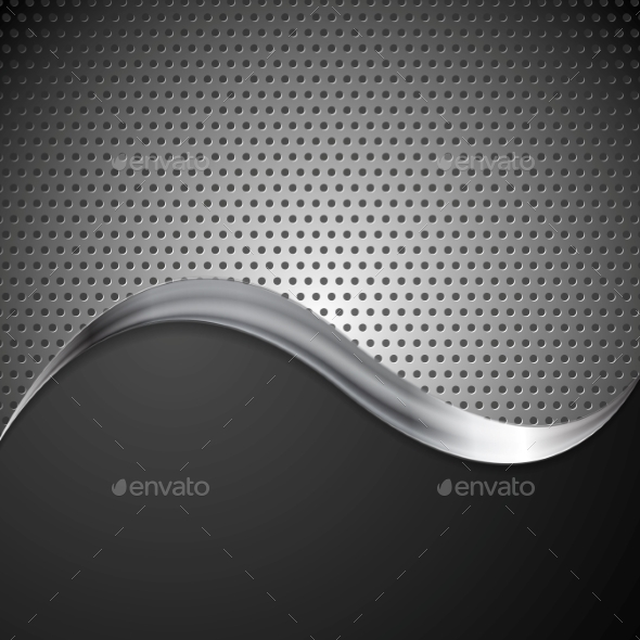 Metal Background - Technology Conceptual