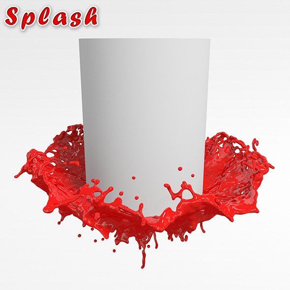 HD splash #5 - 3DOcean Item for Sale