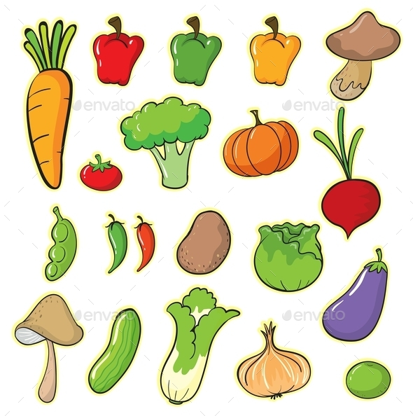 Vegetables - Food Objects