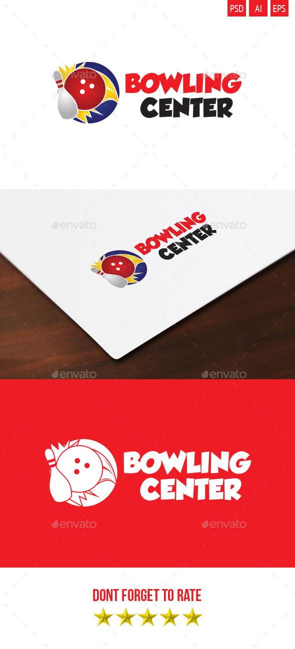 Bowling Center Logo - Symbols Logo Templates