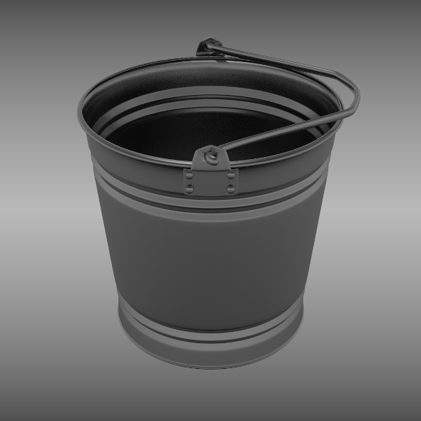 Bucket - 3DOcean Item for Sale