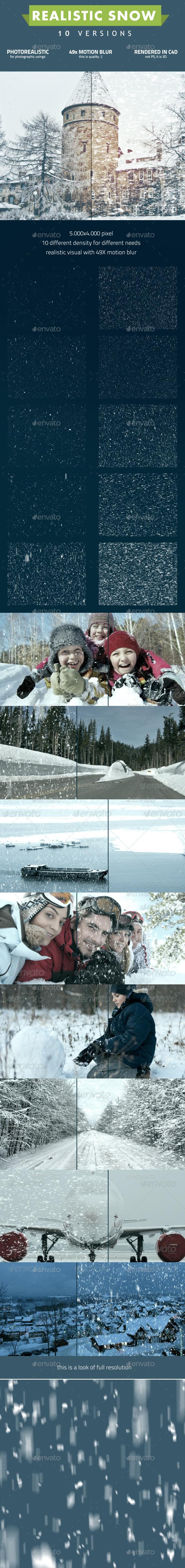 Snow - Seasonal Photo Templates