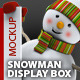 Snowman / Display Box Mock-up - GraphicRiver Item for Sale