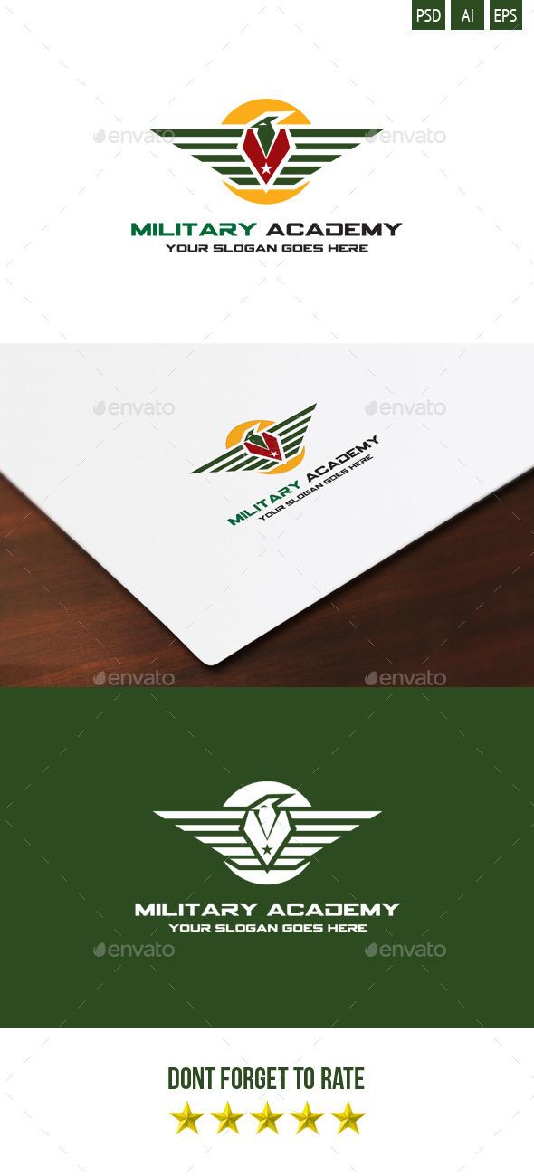 Military Academy logo - Symbols Logo Templates